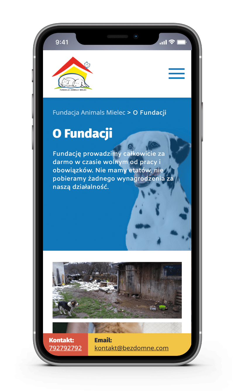 fundacja animals mielec case study about mobile