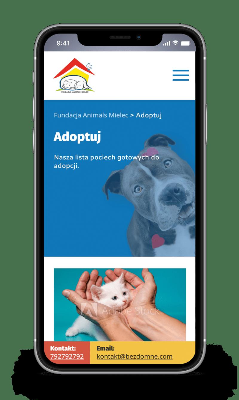 fundacja animals mielec case study adopt mobile