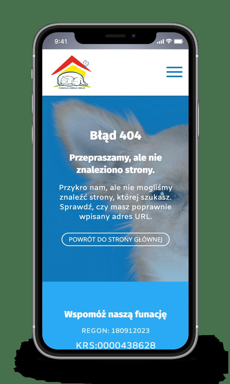 fundacja animals mielec case study error 404 mobile