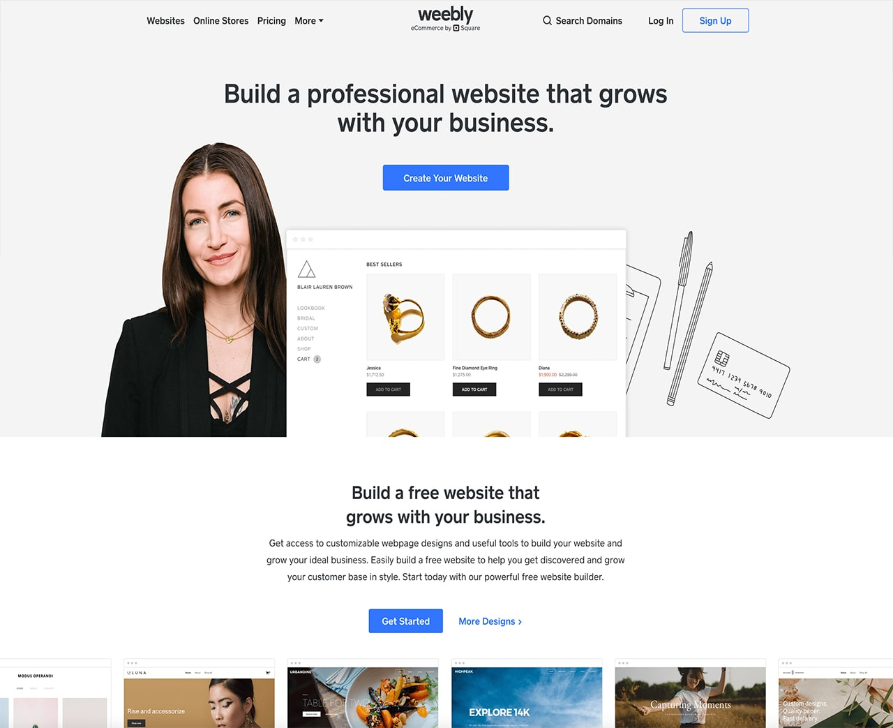 Weebly - A Drag and Drop Builder