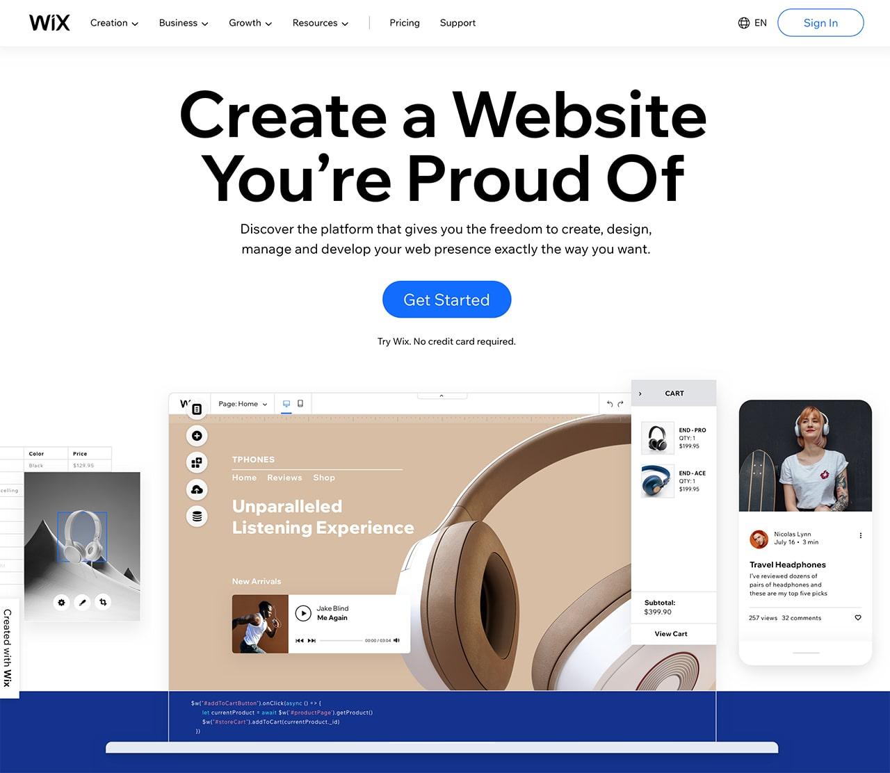 wix website builder is it worth it