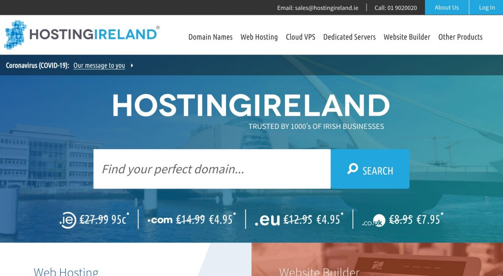 Hosting Ireland For WordPress Website Comparison