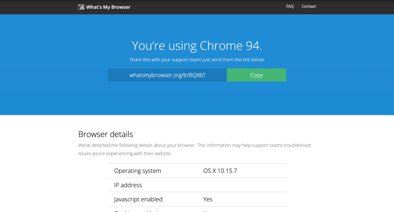 How To Find What Browser I Am Using