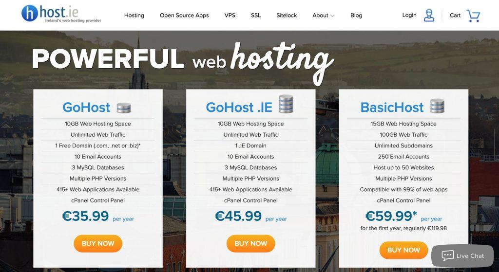 What Irish Hosting Is Best For WordPress Site Host